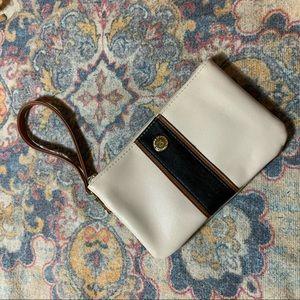 Stone Co Leather Wristlet